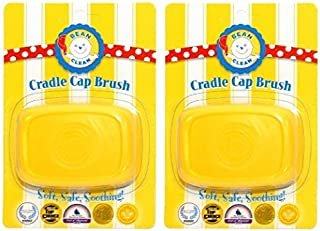 Bean b Clean Cradle Cap Scalp Massaging Brush (2 pack)