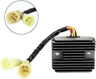 ECCPP Voltage Regulator Rectifier Fit for 2000 2001 2002 2003 2004 2005 Kawasaki Ninja ZX12R 2000 2001 2002 2003 Kawasaki Ninja ZX9R Rectifier Regulator
