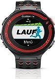 Garmin - Forerunner 220 - Montre de Running - GPS Intégré - Noir/Rouge
