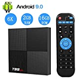 EASYTONE Android TV Box 9.0,T95 MINI Android Boxes 2GB RAM 16GB ROM H6