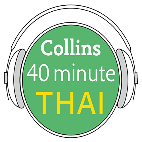 Thai in 40 Minutes audiobook cover art