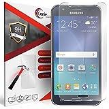Conie 9H3098 9H Panzerfolie Kompatibel mit Samsung Galaxy J5, Panzerglas Glasfolie 9H Anti Öl Anti Fingerprint Schutzfolie für Galaxy J5 Folie HD Clear