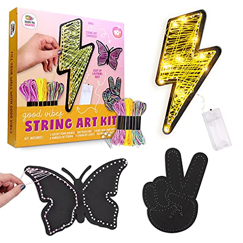 DIY String Art With Lights.String Art Kit to Make DIY Wall Decor Butterfly,...