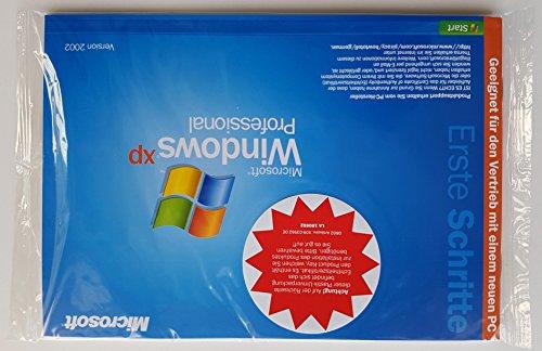 Microsoft Windows XP Professional 1-2CPU 32-Bit Systembuilder Edt. Version 2002 E85-02196 Original