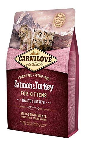 Carnilove Chatons - Saumon et Dinde 2kg