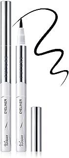 Pudaier Waterproof Liquid Eyeliner, Longlasting & Smudgeproof Eye Liner 2 Packs Quick Dry Eyeliner, Suit for Beginners Eye...