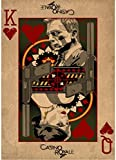 XIAOPINGZI Kunst Leinwand Poster James Bond 007 Poster Home