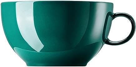 Preisvergleich für Thomas Rosenthal - Sunny Day - Seaside Green - Cappuccino Obertasse - Porzellan - 0,38 l
