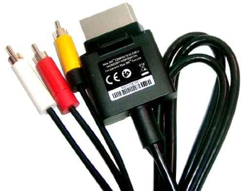 XBOX 360 Composite Audio/Video Cable