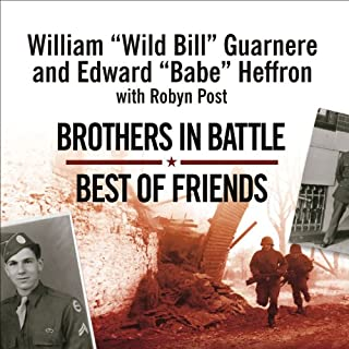 Brothers in Battle, Best of Friends audiobook cover art