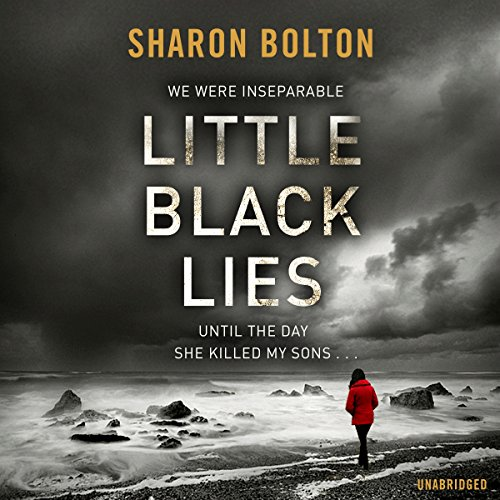 Little Black Lies audiobook cover art