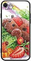 VEKKK PUI PUI モルカー スマホケース スマホカバー ポテト テディ アビー チョコ シロモ 携帯 鏡面ガラス スマホリング カバー おしゃれ 薄型 軽量 一体型 漫画 萌え アニメ グッズ 全面保護 薄型 軽量 iPhone多機種対応