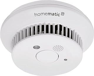 Homematic Ip 142685A0 Smart Home Rookmelder, Met Q-Kabel, Wit