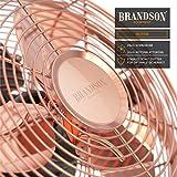 Immagine 2 brandson 5641364114641 ventilatore da tavolo