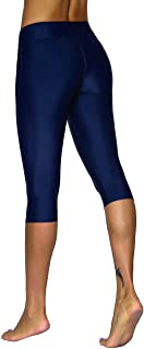 Women's Swimwear Capri Quick Dry Stretch Water Sports Leggings
