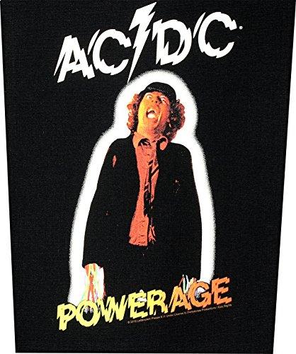 AC/DC Dos Badges Powerage Back Patch écusson