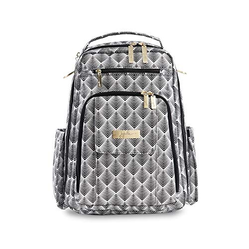 JuJuBe Be Right Back Multi-Functional Structured Backpack/Diaper Bag, Legacy Collection - The Cleopatra
