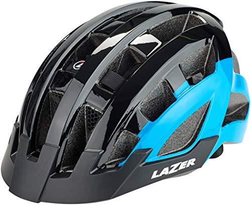 Lazer Compact Deluxe Helm Black-Blue 2021 Fahrradhelm