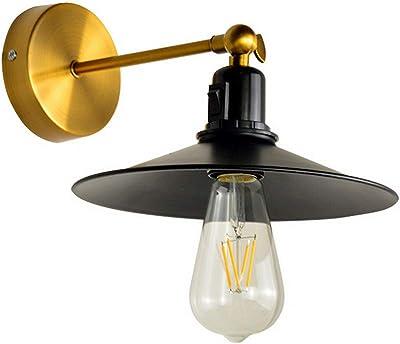 estilo industrial lámpara de techo de hierro pintado vintage