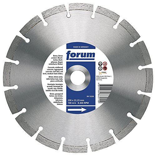 Forum diamit lasergescheißt-disque à tronçonner - 230 x 22,2 x 2,5 mm, 4317784862110