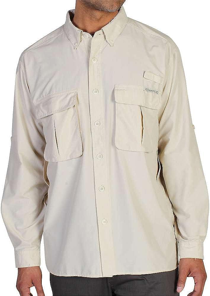 Latest item ExOfficio Men's Air Strip Macro Shirt Long Philadelphia Mall Sleeve Plaid