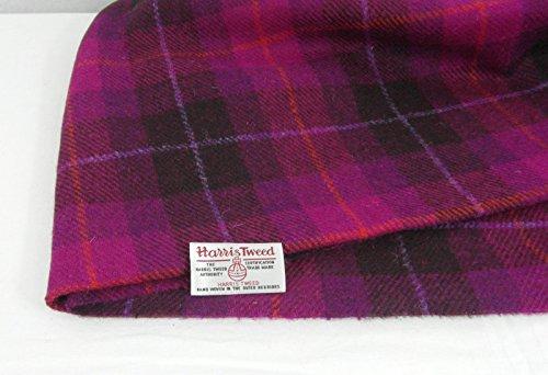 Echter Stoff von Harris Tweed, 100% reine Wolle, mit Etiketten, 75cmx50cm – Ref. f52