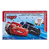 Disney GBV45 - Cars Spielzeugauto Adventskalender inkl. 5 Mini Die-Cast Fahrzeuge, Spielzeug ab 3 Jahren