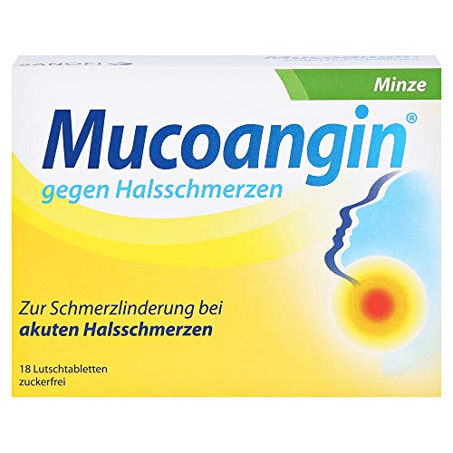 Mucoangin Minze 20 mg, 18 St
