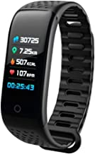 Sports Smart Watch- Bluetooth, Fitness Tracker Smart Watch Blood Pressure Heart Rate Monitor,Color Screen Calorie Counter IP67 Waterproof, for Android & iOS Smart Phone