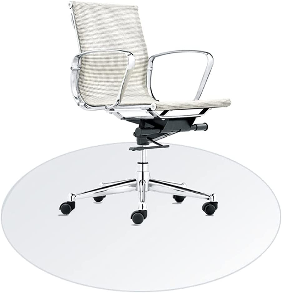 Transparent SEAL limited product Floor Mats Office for Flo Round Rolling Chair 70% OFF Outlet