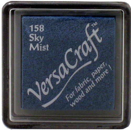 VersaCraft vks-158Stempel Stoff, kleiner Cube 25x 25mm himmel Mist