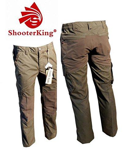 Shooterking de Chasse et Cordura Pantalon de randonnée pour Homme-Taille 54