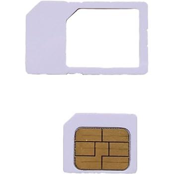 iOSに対応 au専用 iPhoneアクティベートカード 【MicroSIMサイズ/通常サイズに変換可能】