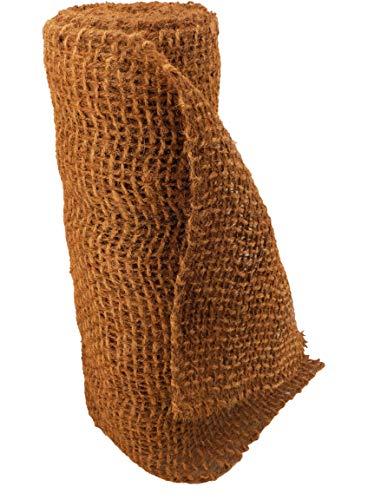 Hochwertige Ufermatte Böschungsmatte von Aquagart I 4m Kokosgewebe Kokosfaser-Matte 1m breit Kokosmatte für Pflanzen I Teichrand Pflanzen Wurzel-Schutz Kokosgeflecht Hangsicherung Bewuchsmatte
