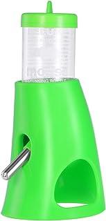ledmomo ハムスター 給水器 小動物用 自動 給水器 水飲み器 水入れ 水漏れ防止機能付き 便利 取り付け簡単 小動物用品 飼育ケージ内装 グリーン
