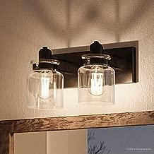 Luxury Modern Farmhouse Bathroom Vanity Light, Medium Size: 8.625