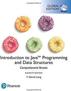 Introduction to Java Programming and Data Structures, Global Edition