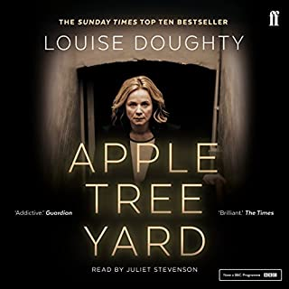 Apple Tree Yard                   By:                                                                                                                                 Louise Doughty                               Narrated by:                                                                                                                                 Juliet Stevenson                      Length: 14 hrs     2,297 ratings     Overall 4.3
