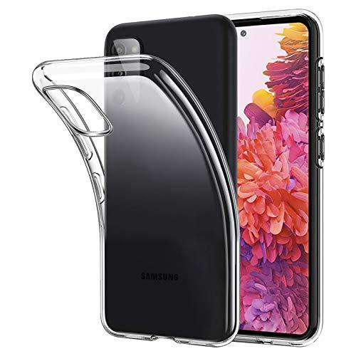 ANEWSIR für Samsung Galaxy S20 FE/FE 5G Hülle Transparent, Crystal Silikon Schlank Transparent TPU [Anti-Gelb] Durchsichtige Schutzhülle Hülle Superdünnen Hülle passt Samsung S20 FE/FE 5G Handyhülle