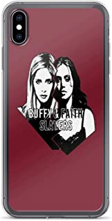 iPhone 7 Plus/iPhone 8 Plus Case Clear Anti-Scratch Buffy, Buffy & Faith: Slayers Cover Phone Cases for iPhone 7 Plus iPhone 8 Plus
