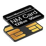 Foto Scheda NM 128GB 90 MB/S Scheda di memoria Nano Solo scheda Nano Adatto per Huawei P30/P30pro/P40 Serie/Serie Mate20/Serie Mate30 Nano Scheda da 128GB
