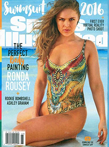 2016 Sports Illustrated Swimsuit Issue Rhonda Rousey Cover