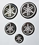 Yamaha Stickers for helmet tank Carbon Fiber...