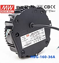 HBG-160-36A AC/DC LED Power Supply 158.4W Single 5-Pin