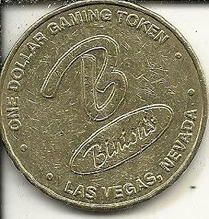 $1 binions casino token coin las vegas nevada obsolete