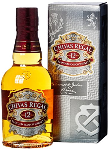 Chivas Regal Scotch 12 Years Old  Whisky (1 x 0.35 l)