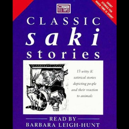 Classic Saki Stories audiobook cover art