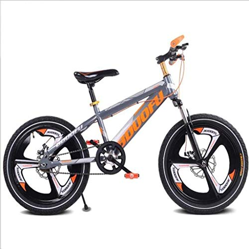 Children's Bicycle 18 inch Mountain Student car Disc Brake Damping Single Speed Sports Bicycle
