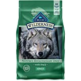 Blue Buffalo Wilderness High Protein, Natural Adult Dry Dog Food, Duck...