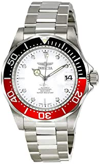 Men's Stainless Steel Pro Diver White Dial Automatic